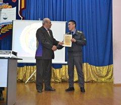 Встреча генералов мира с курсантами академии МВД