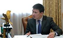 Улуттук энергохолдингдин экс-жетекчиси Айбек Калиев. Архивдик сүрөт