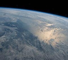 Вид на планету земля. Архивное фото