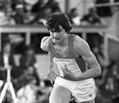 Лидер советских атлетов-спринтеров, выступающих в беге на 400 метров Николай Чернецкий. Архивное фото