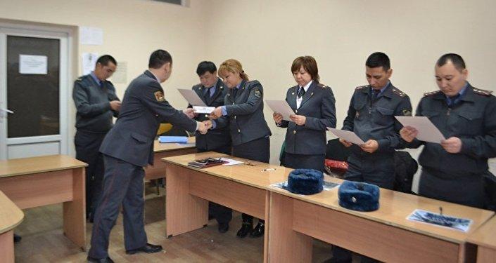 Следователи Главного следственного управления, а также подразделений милиции областей прошли курсы повышения квалификациий