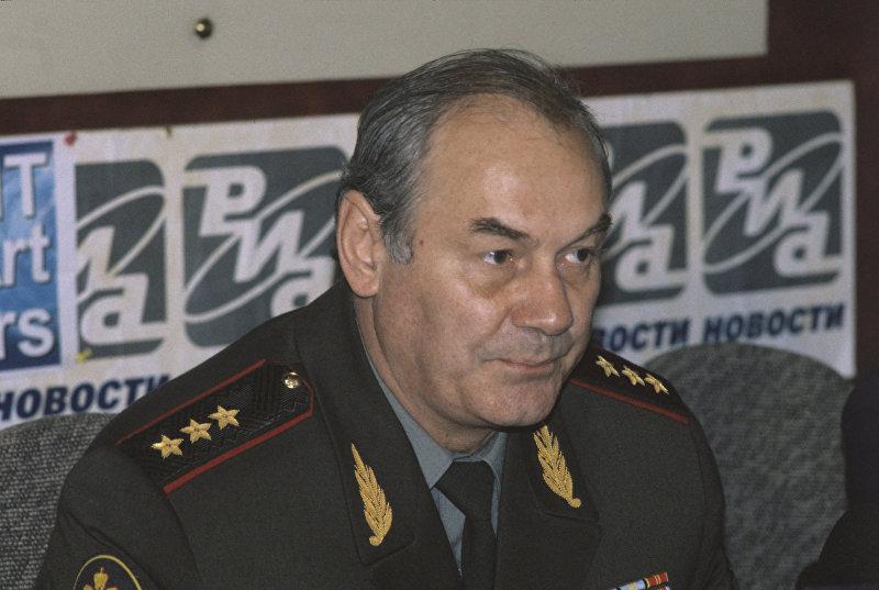 Пресс-конференция генерал-полковника Леонида Ивашова