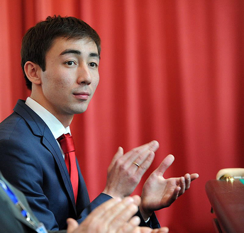 Трехкратный чемпион мира по бильярдному спорту Каныбек Сагынбаев. Архивное фото