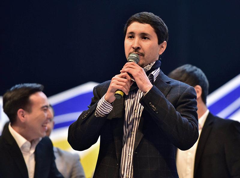 Создатель и капитан команды КВН Asia Микс Эльдияр Кененсаров. Архивное фото