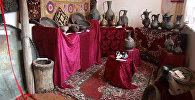 Жалал-Абаддагы музей элден тарыхый экспонаттарды күтөт