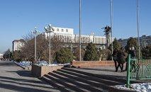 Бишкектеги филармония. Архивдик сүрөт