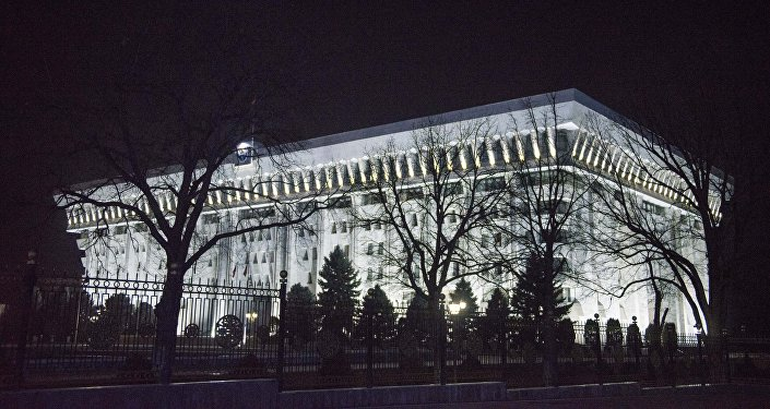 Здание Жогорку Кенеша