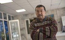 Кинорежиссер, Народный артист Кыргызстана Геннадия Базаров. Архивное фото