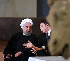 Ирандын президенти Хасан Роухани жана Италиянын премьер-министри Маттео Ренци Римде. Архив