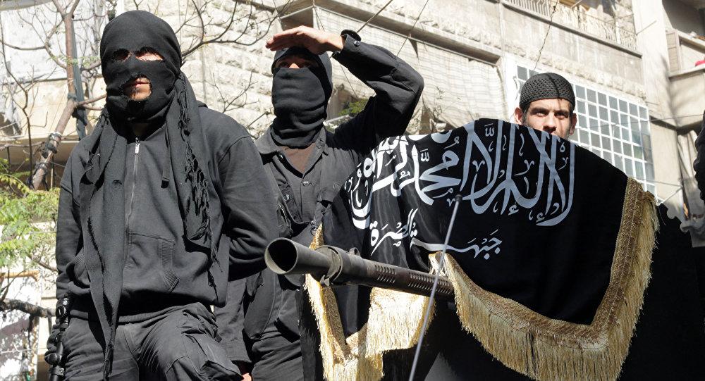 Члены террористической группировки Исламское государство. Архивное фото