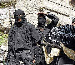 Террористы Исламского государства в Сирии. Архивное фото