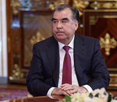 Тажикистандын президенти Эмомали Рахмон. Архив