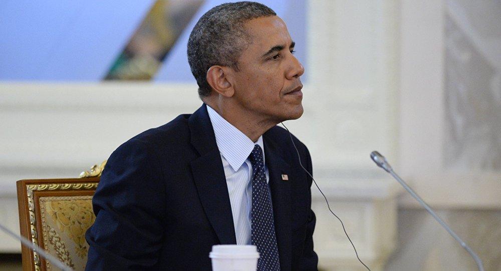Архивное фото экс-президента Соединенных Штатов Америки (США) Барака Обамы