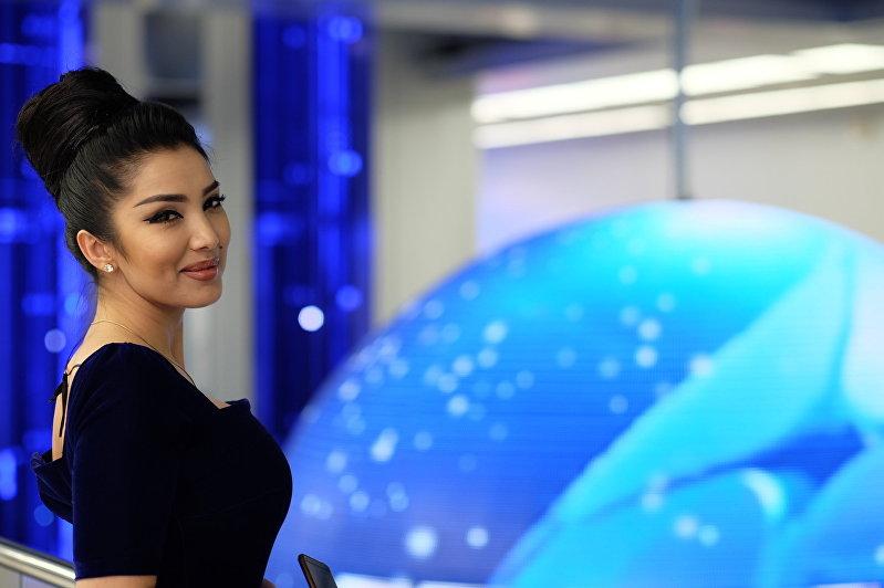 Игрок кыргызстанской команды КВН Азия MIX Ситора Фармонова