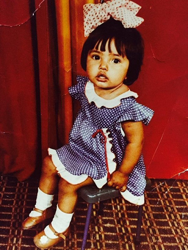 Ситора Фармонова в детстве