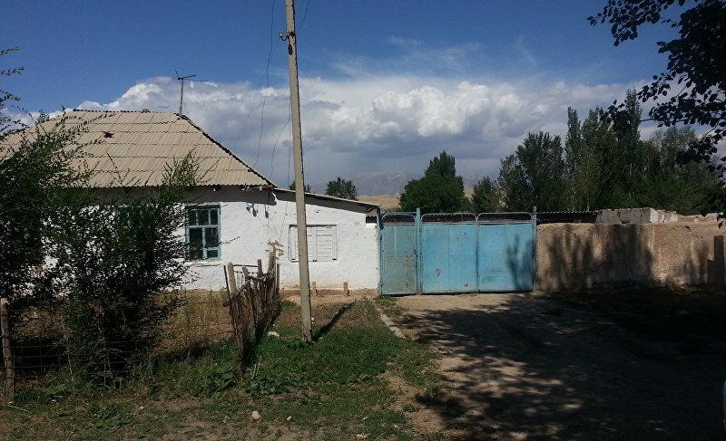 Дом в селе Жан-Булак Нарынской области где вырос Чыныбай Турсунбеков