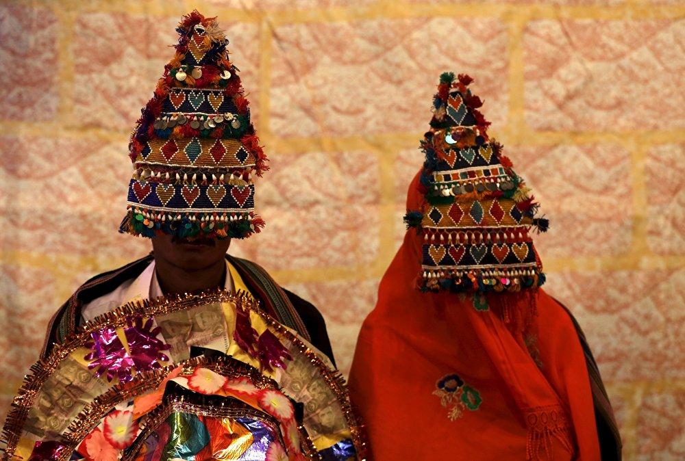 Массовая свадьба в Карачи, Пакистан