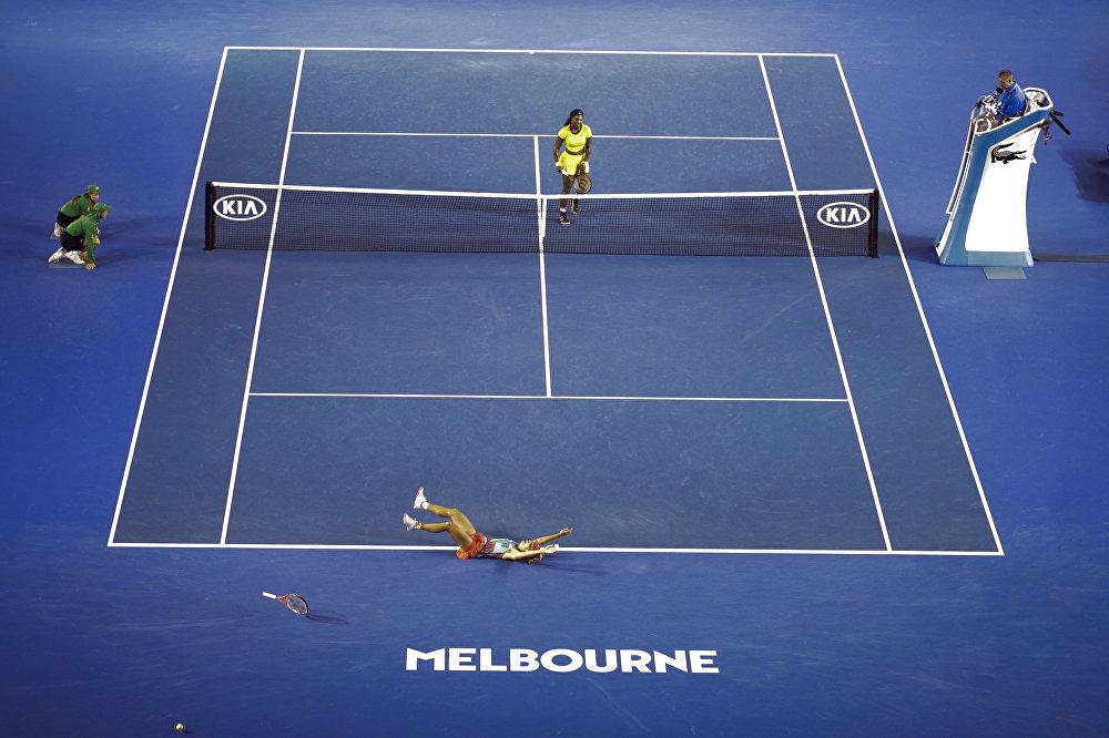 Финал открытого чемпионата Австралии по теннису среди женщин