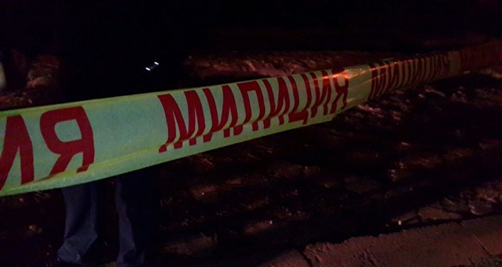 Оцепление — работает милиция. Кадры с места убийства члена ОПГ