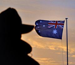 Флаг Австралии. Архивное фото