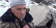 Преобразившийся бомж — бишкекчанка приютила слепого бездомного