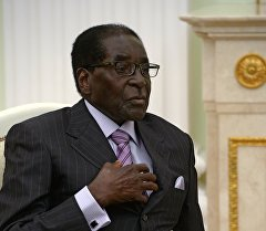 Зимбабвенин президенти Роберт Мугабе. Архив