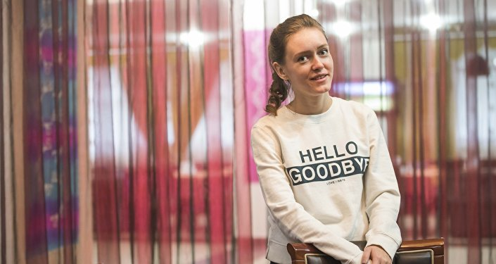 Певица, солистка группы Ginger Ксения Стрельцова. Архивное фото