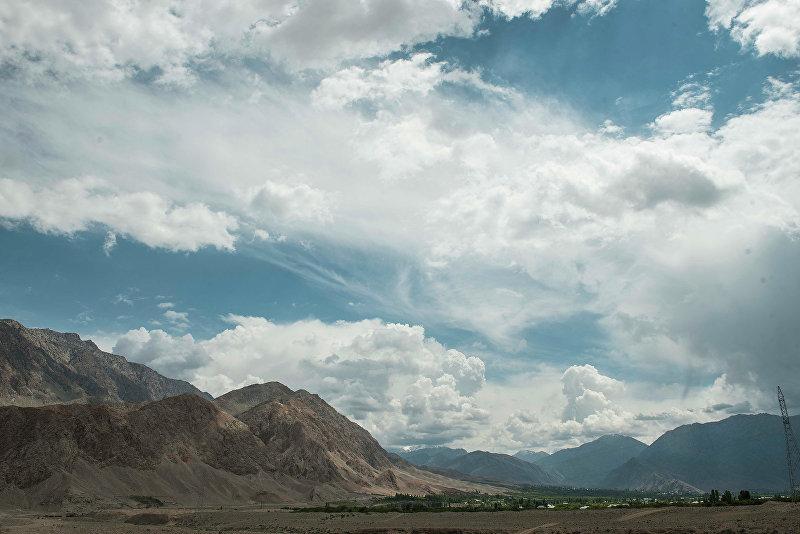 Пограничное село с Таджикистаном