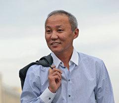 Мэр города Бишкек с 2008 по 2010 годы Тюлеев Нариман. Архивное фото