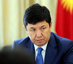 Премьер-министр Кыргызской Республики Темир Сариев. Архивное фото