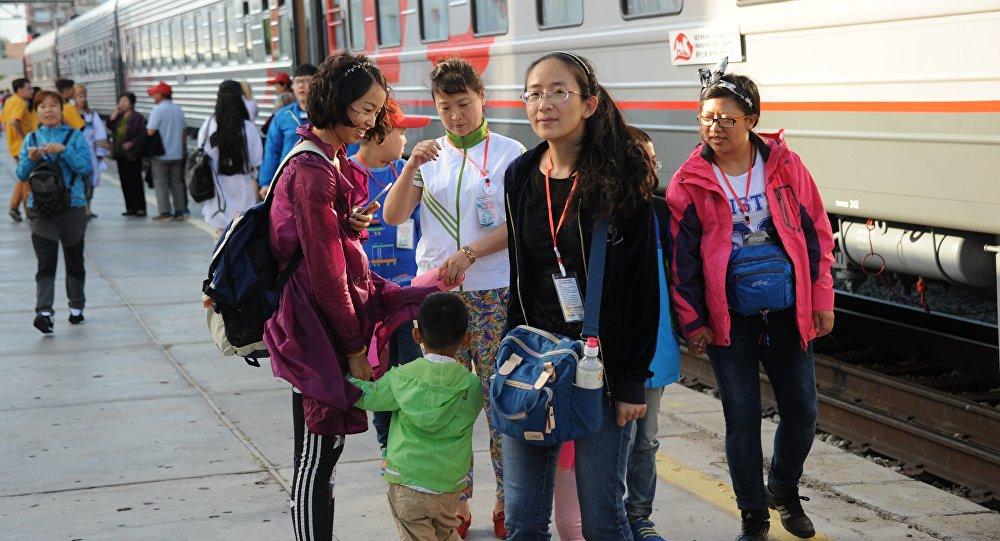 Китайские туристы. Архивное фото