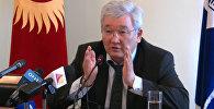 LIVE: пресс-конференция экс-мэра Бишкека Кубанычбека Кулматова