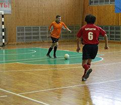 Хабаровскидеги кыргызстандык команда мини-футбол боюнча турнирде.