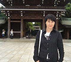Кыргызстандык режиссер, сценарист жана акын Дальмира Тилепбергенова. Архив