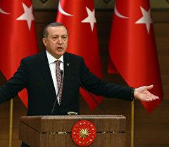 Түркия президенти Режеп Тайып Эрдоган. Архив