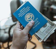 Кыргыз Республикасынын паспорту жана акча. Архив