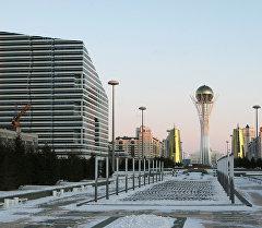 Астана шаарына көрүнүш. Архив
