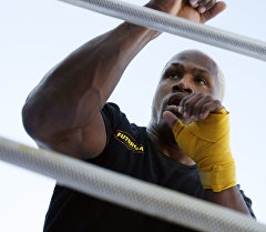 Американский боец смешанного стиля и борец Кевин Рэндлмен. Архивное фото