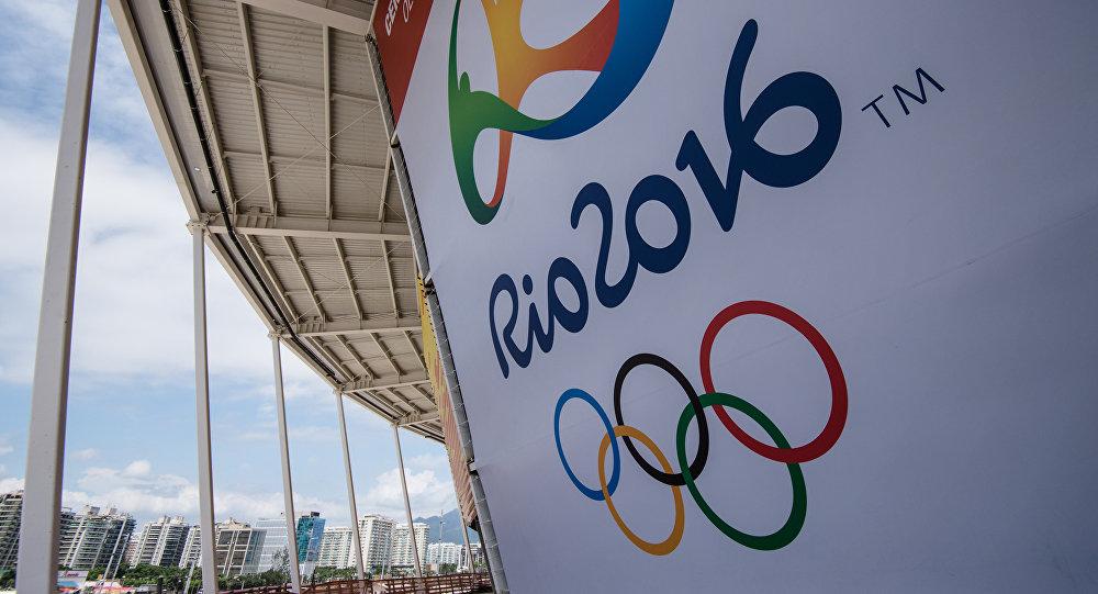 Логотип летних олимпийских игр 2016 в Бразилии. Архивное фото