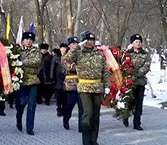 В Оше почтили память погибших воинов-афганцев