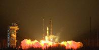 Старт ракеты-носителя Рокот с исследовательским спутником Sentinel-3A