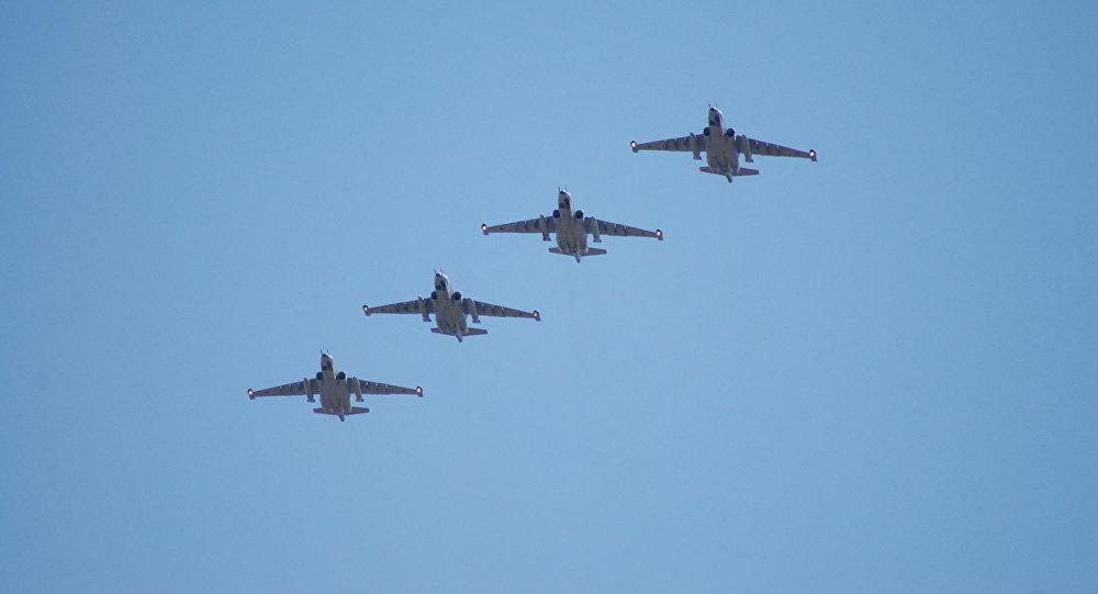 Русские пилоты совершили рекордный беспосадочный перелет наштурмовиках Су-25