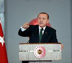 Түркия президенти Тайып Эрдоган. Архив