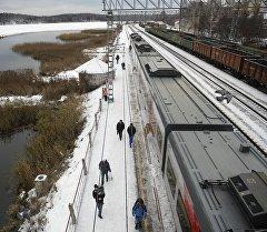 Екатеринбургдагы темир жол. Архив