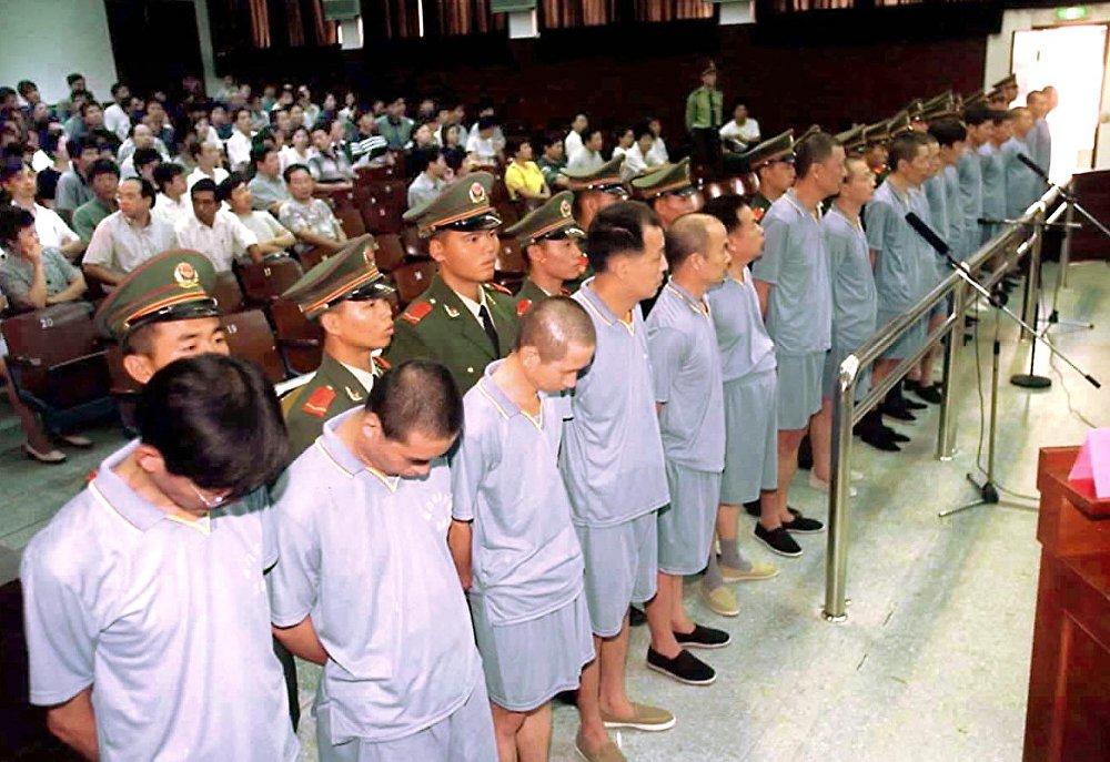 Как совершаются казни в Китае. Современные и архивные фото