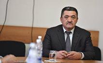 Экс-мэр Бишкека Албек Ибраимов. Архивное фото