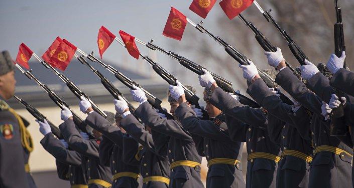 Офицеры Национальной гвардии. Архивное фото