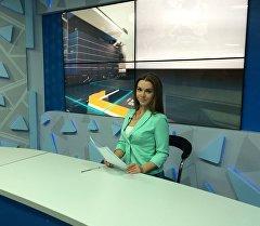 Телеведущая Елена Щербакова.