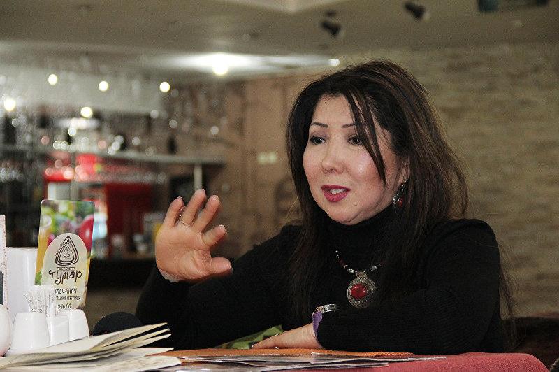 Директор представительства в Кыргызстане и Казахстане испанской компании Leanga Nova Чолпон Алымбекова