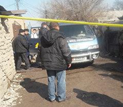 Правоохранительные органы в жилом массиве Токольдош, где произошло поножовщина
